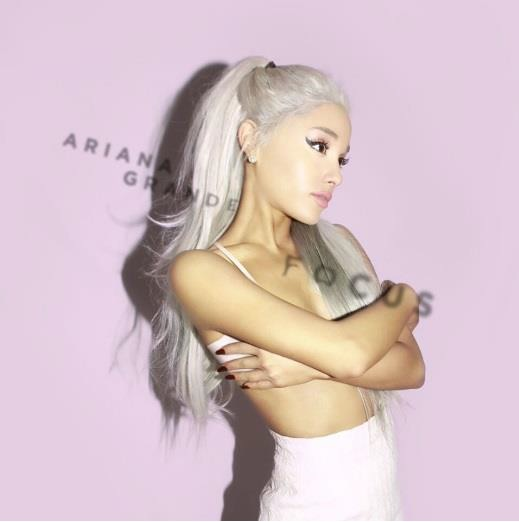Ariana Grande, Single Cover: Focus