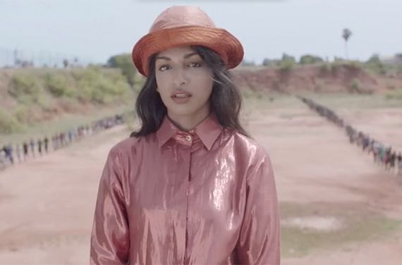 M.I.A. Presspic 2016, Borders, Refugees