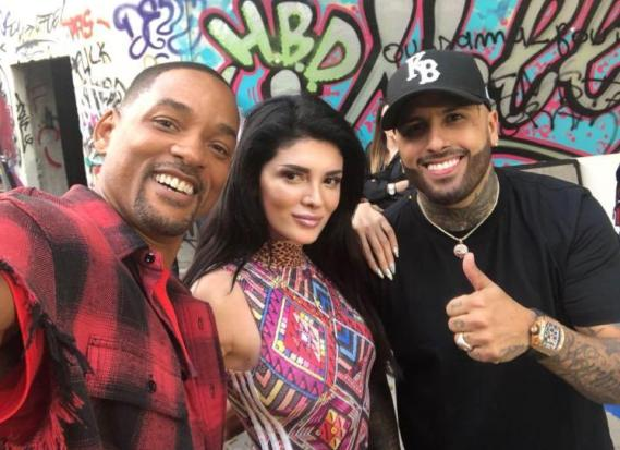 2018 FIFA World Cup Russia, nicky jam, will smith and era istrefi